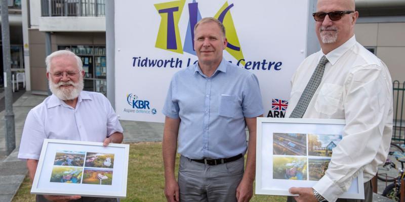 Estonian Dignitaries Welcomed to Tidworth