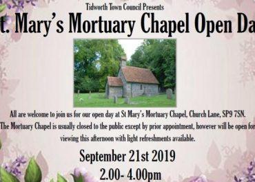 St Mary's Mortuary Chapel Open Day