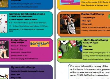 Summer Activities @ Tidworth Leisure Centre