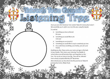 Tidworth Town Council's Listening Tree