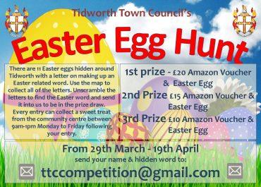 Walking Easter Egg Hunt...