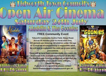 Tidworth Town Council's Open Air Cinema